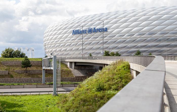 München Allianz Arena Bundesautobahn A 9