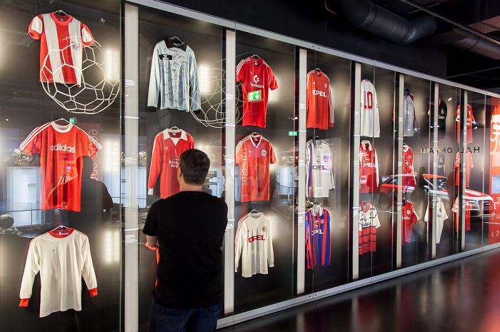 Allianz Arena: FC Bayern München Erlebniswelt - Mannschaftstrikots