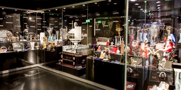Allianz Arena: FC Bayern München Erlebniswelt - Schatzkammer