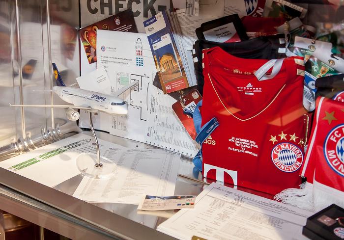 Allianz Arena: FC Bayern München Erlebniswelt - Organisatorisches für ein Champions League-Auswärtsspiel