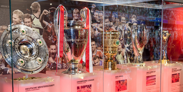 Allianz Arena: FC Bayern München Erlebniswelt - Das Rekordjahr 2013