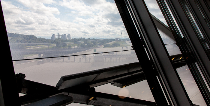 München Blick aus der Allianz Arena