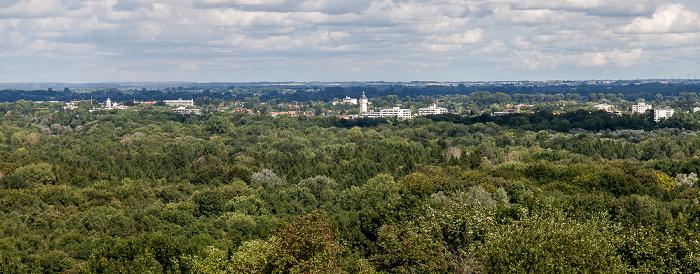München Blick vom Fröttmaninger Berg in Richtung Nordosten: Ismaning