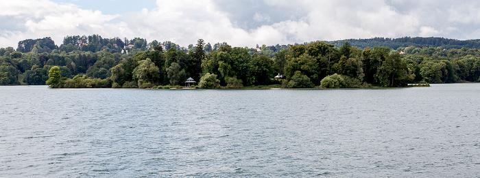 Starnberger See Roseninsel