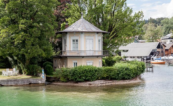 Tutzing Starnberger See, Brahms-Pavillon (ehem. Fischerhaus)