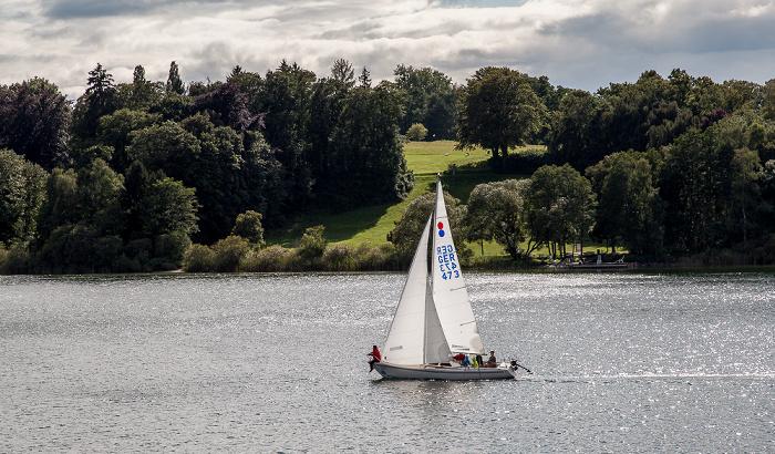 Bernried Starnberger See, Park von Schloss Höhenried