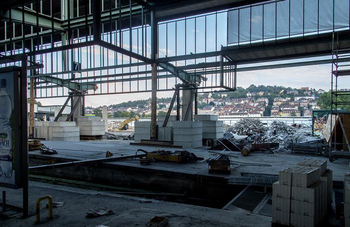 Hauptbahnhof: Abrissarbeiten für Stuttgart 21