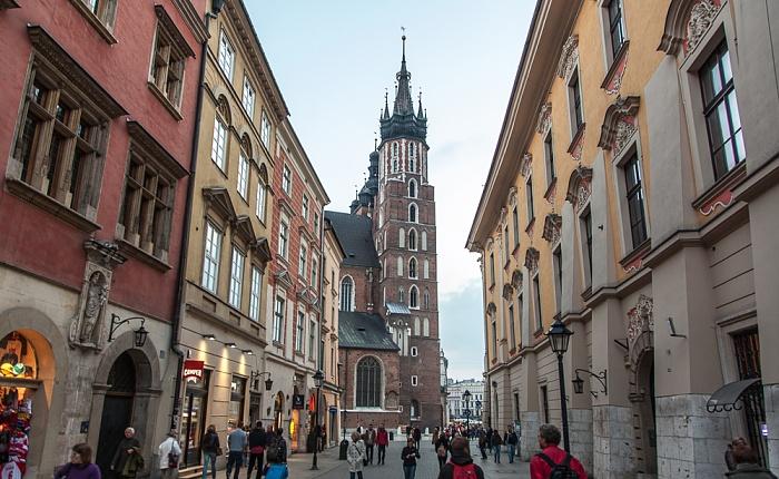 Krakau Stare Miasto: Florianska (Floriansgasse), Marienkirche