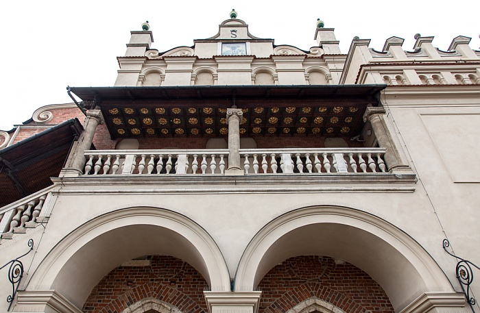 Stare Miasto: Hauptmarkt (Ring, Rynek Glówny) - Krakauer Tuchhallen (Sukiennice)