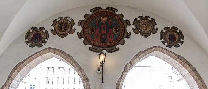Krakauer Tuchhallen (Sukiennice)