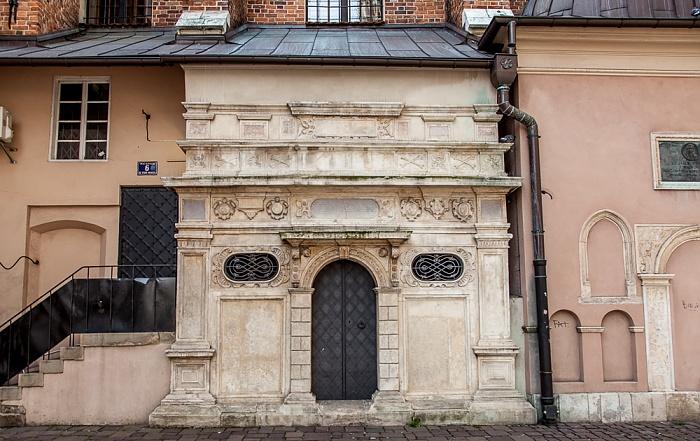 Krakau Stare Miasto: Plac Mariacki - St.-Barbara-Kirche