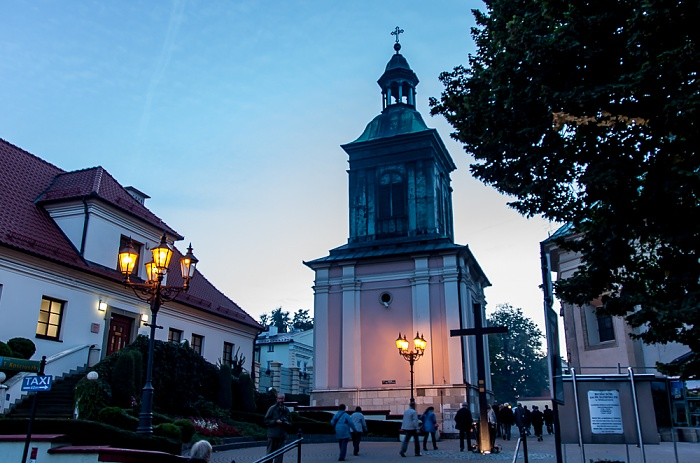 Wieliczka Pfarrkirche des Hl. Klemens (Sw. Klemensa): Freistehender Glockenturm