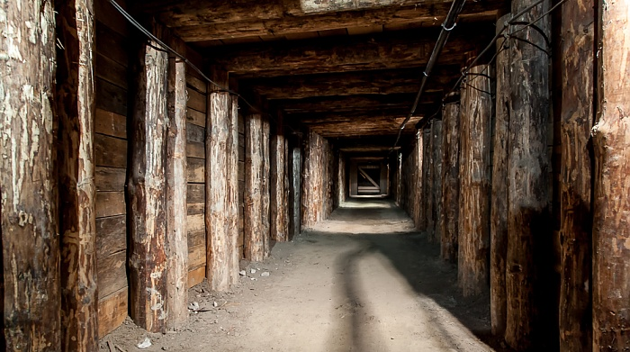 Salzbergwerk Wieliczka: Verbindungsstollen