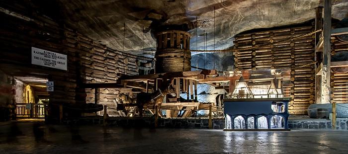 Salzbergwerk Wieliczka: Kammer Kasimir's des Großen - Sohle I, 63 m Tiefe
