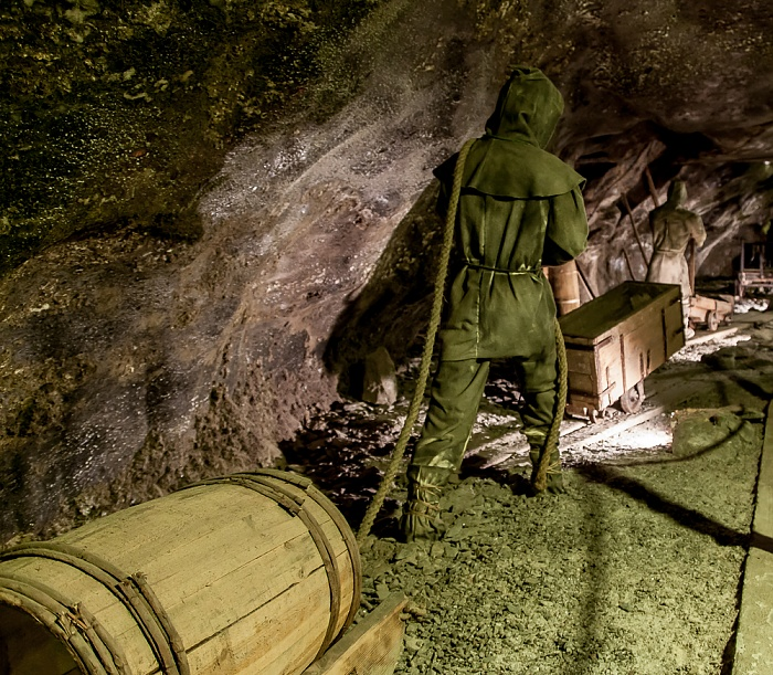 Salzbergwerk Wieliczka: Kammer Sielec - Sohle I, 65 m Tiefe