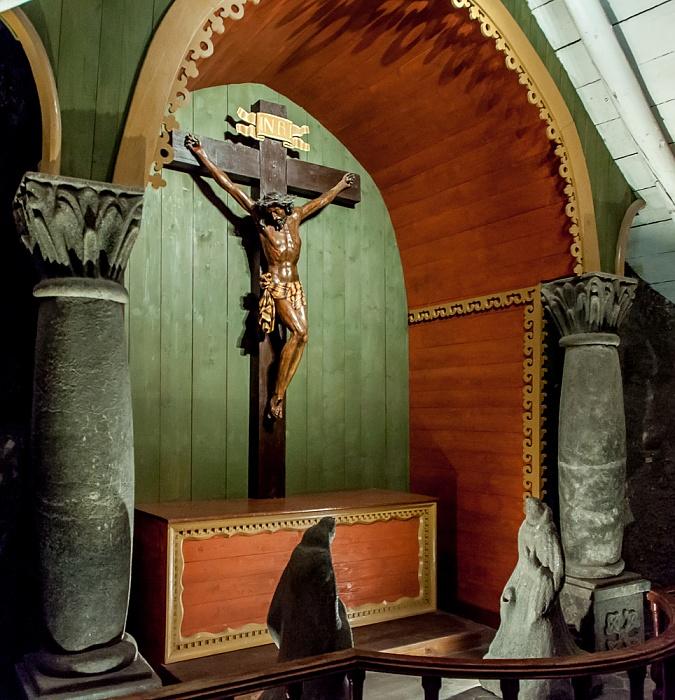 Salzbergwerk Wieliczka: Kapelle des Heiligen Kreuzes - obere Sohle II, 91 m Tiefe