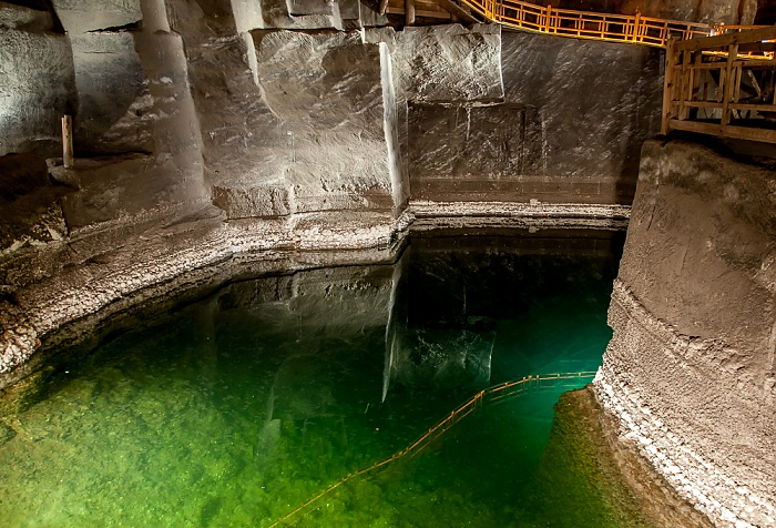 Salzbergwerk Wieliczka: Kammer des Erazm Baracz - untere Sohle II, 100 m Tiefe