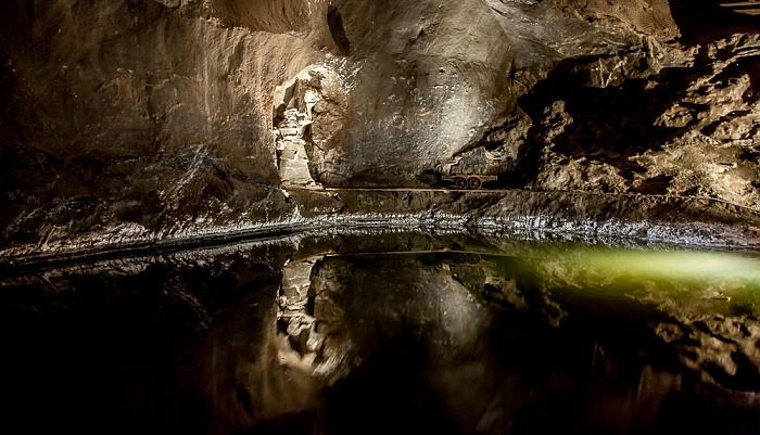 Salzbergwerk Wieliczka: Kammer Weimar - untere Sohle II, 110 m Tiefe