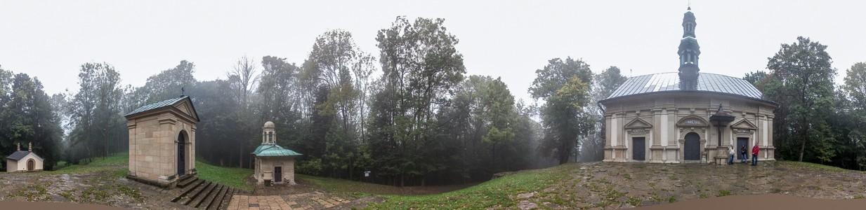 Kalwaria Zebrzydowska Kalwaria-Zebrzydowska-Park (Kalvarienberg): Kapellen