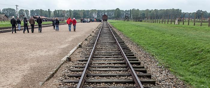 Staatliches Museum Auschwitz-Birkenau: Konzentrationslager Auschwitz-Birkenau - Gleise