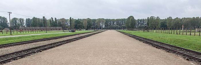 Staatliches Museum Auschwitz-Birkenau: Konzentrationslager Auschwitz-Birkenau - Die Rampe