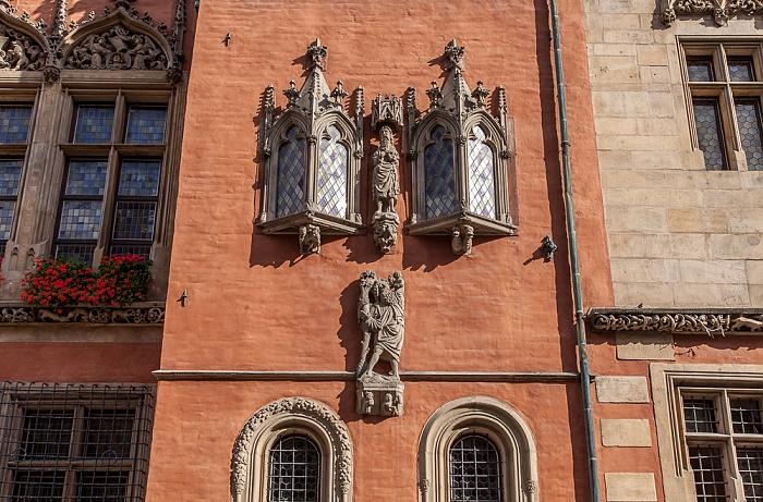Stare Miasto: Großer Ring (Rynek) - Breslauer Rathaus