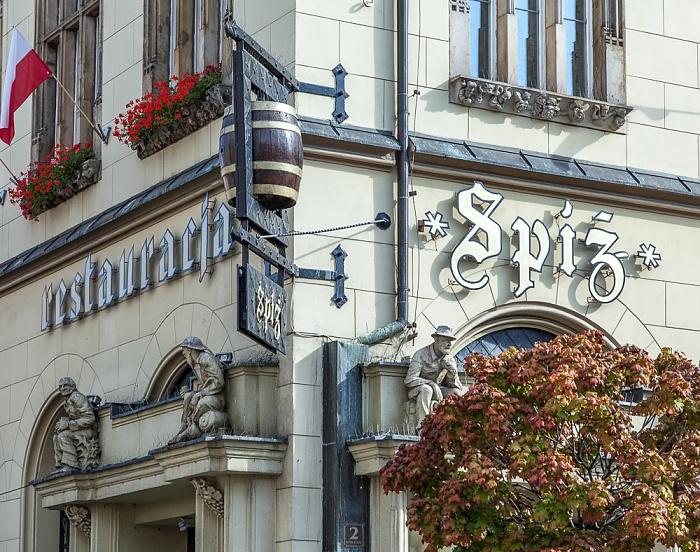 Breslau Stare Miasto: Großer Ring (Rynek) - Bierkeller Spiz