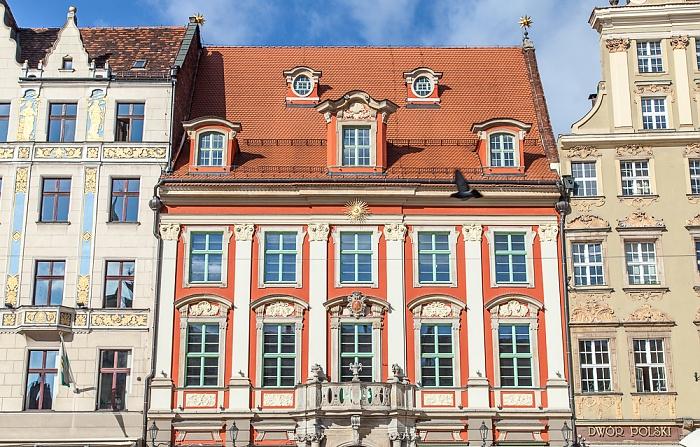 Breslau Stare Miasto: Großer Ring (Rynek) - Zur Goldenen Sonne