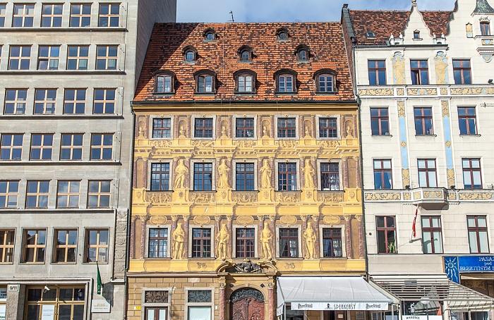 Breslau Stare Miasto: Großer Ring (Rynek) - Zu den sieben Kurfürsten
