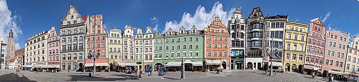 Breslau Stare Miasto: Großer Ring (Rynek) - Nordseite (Naschmarkt-Seite)