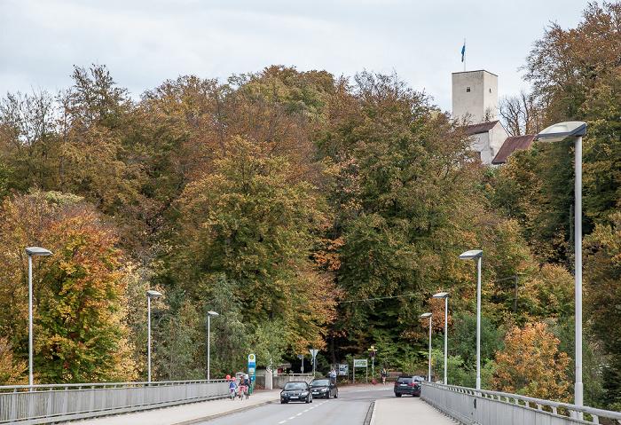 Pullach im Isartal Grünwalder Isarbrücke