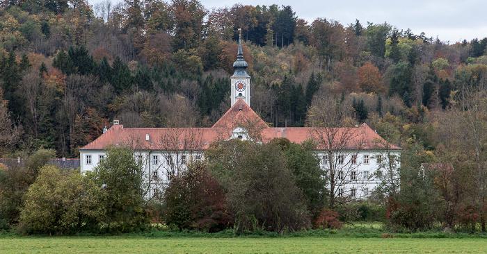Isartal: Kloster Schäftlarn mit der St.-Dionys-Kirche (Klosterkirche)