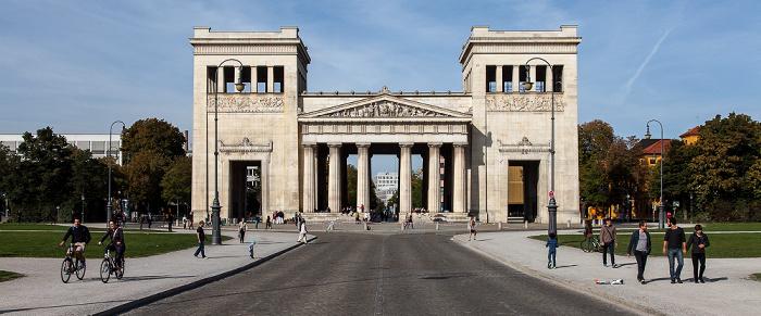 München Maxvorstadt - Königsplatz: Propyläen