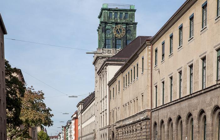 München Maxvorstadt: Gabelsbergerstraße - Technische Universität
