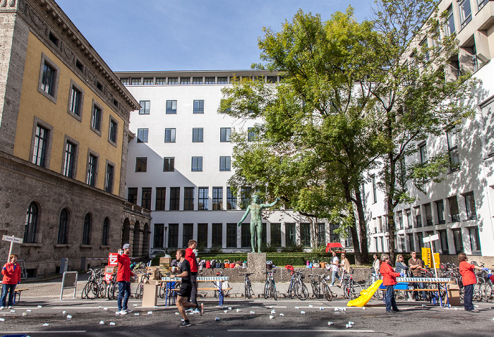 Kunstareal München (Maxvorstadt): Arcisstraße - Technische Universität