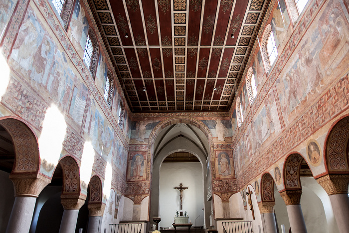 Reichenau Oberzell: Basilika St. Georg - Langhaus