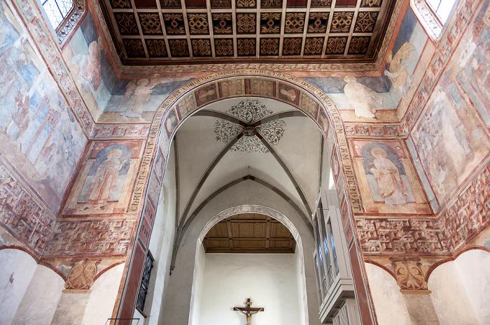 Reichenau Oberzell: Basilika St. Georg - Langhaus, Chorraum, Vierung