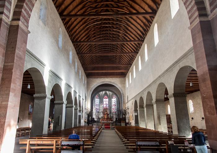 Reichenau Mittelzell: Münster St. Maria und Markus - Langhaus