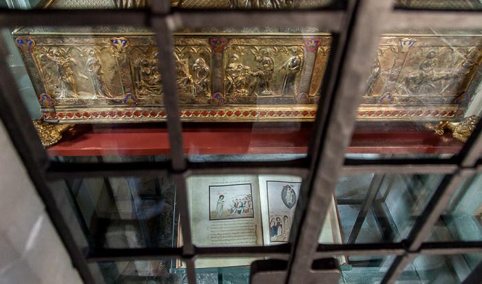 Reichenau Mittelzell: Münster St. Maria und Markus - Reliquienschrein des Evangelisten Markus