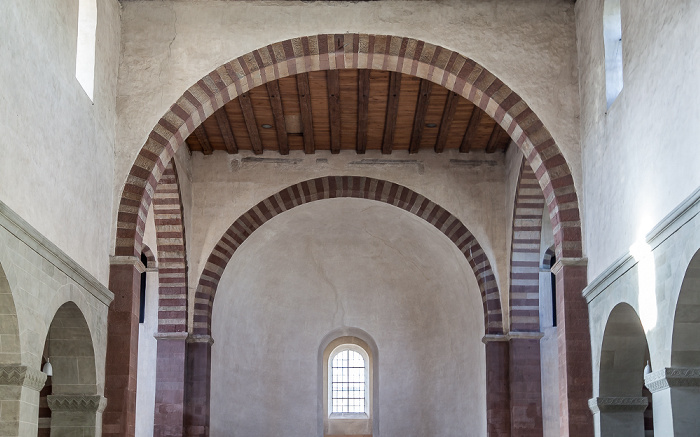 Reichenau Mittelzell: Münster St. Maria und Markus - Westquerschiff und Westapsis