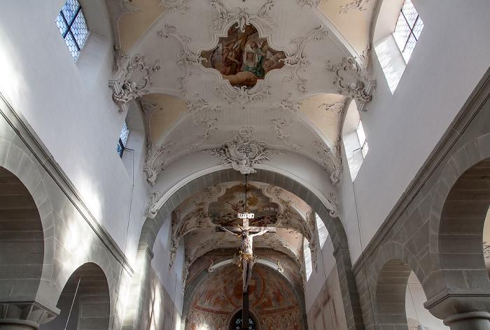 Reichenau Niederzell: Basilika St. Peter und Paul - Langhaus