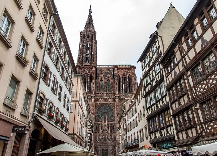 Grande Île: Straßburger Münster (Cathédrale Notre-Dame de Strasbourg)