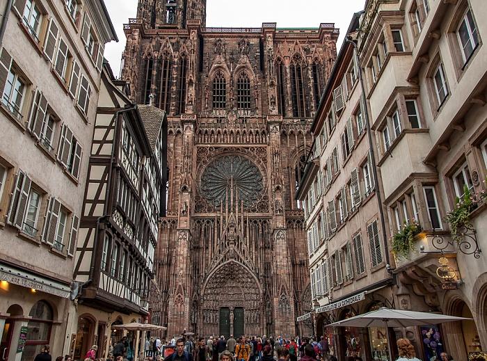 Grande Île: Straßburger Münster (Cathédrale Notre-Dame de Strasbourg) - Westfassade