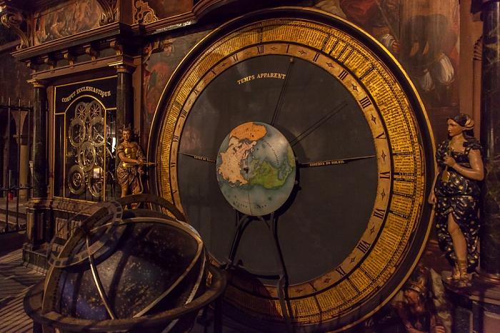Straßburger Münster (Cathédrale Notre-Dame de Strasbourg): Astronomische Uhr