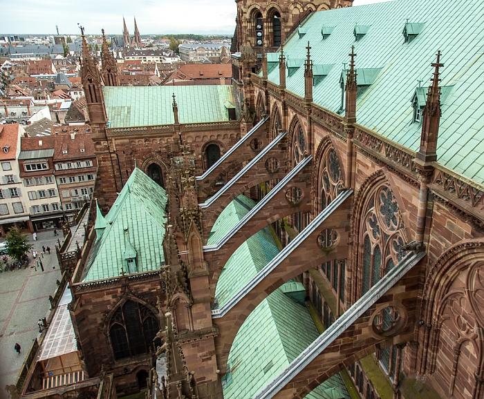 Grande Île: Straßburger Münster (Cathédrale Notre-Dame de Strasbourg) Église Saint-Paul Place de la Cathédrale