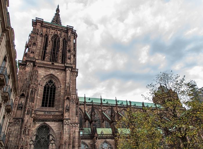 Grande Île: Straßburger Münster (Cathédrale Notre-Dame de Strasbourg) - Südfassade