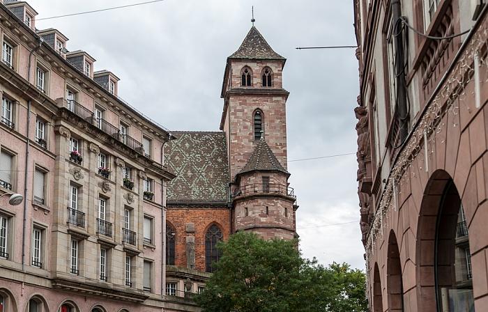 Straßburg Grande Île: Rue du 22 Novembre, Église Saint-Pierre-le-Vieux