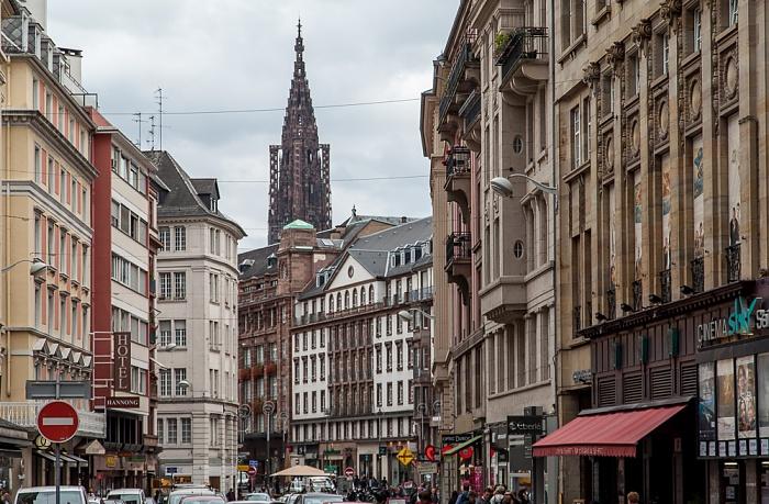 Straßburg Grande Île: Rue du 22 Novembre Le Star Saint-Exupéry Straßburger Münster