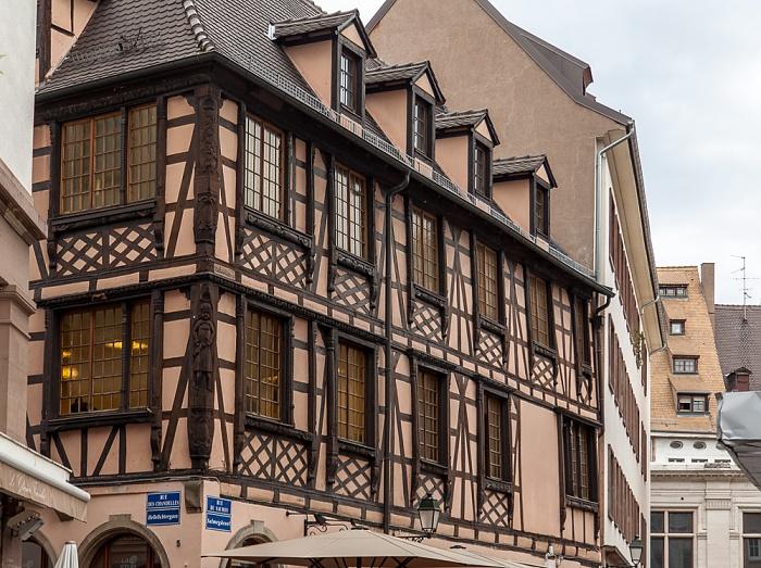 Straßburg Grande Île: Rue du Saumon - La Stub