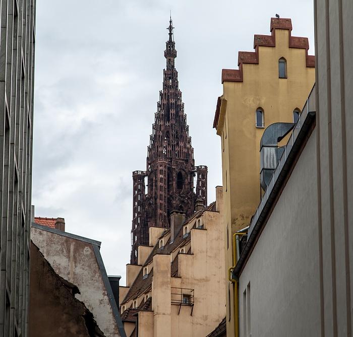 Grande Île: Turm des Straßburger Münsters (Cathédrale Notre-Dame de Strasbourg)